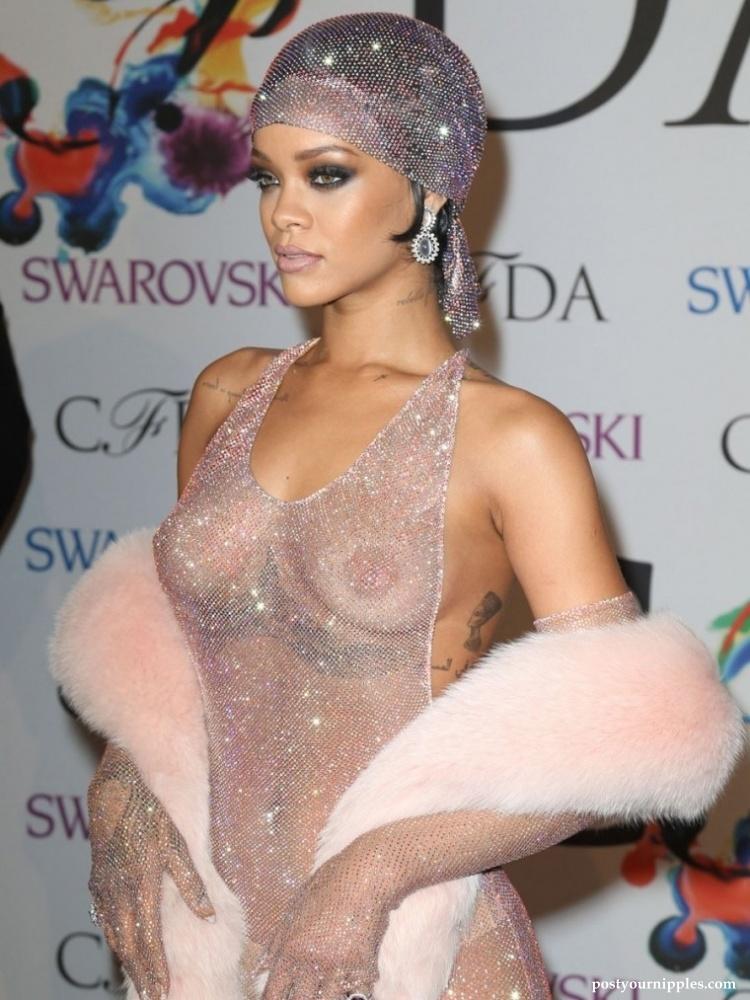 Nipples rihanna 7 Celebrities